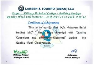 Appreciation-Certificate-L&T